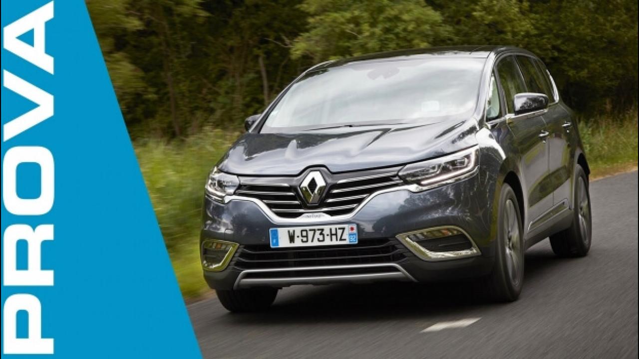 [Copertina] - Renault Espace, più potente con il nuovo turbo benzina