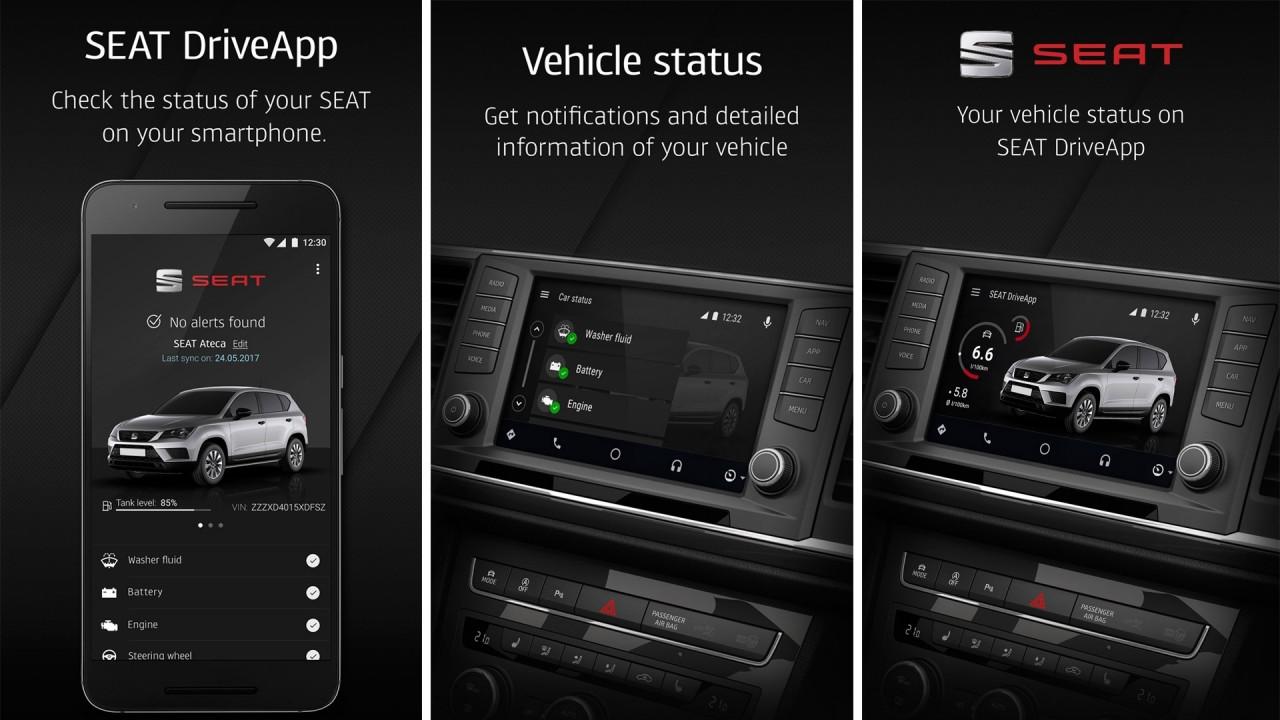 [Copertina] - Seat DriveApp, l'app per il controllo a distanza