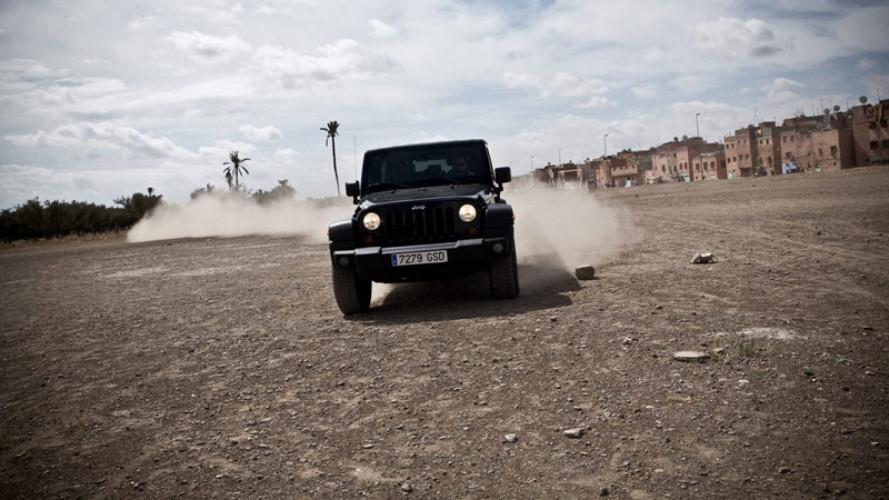 Viaggi - Marrakech - Barcellona con la Jeep Wrangler Unlimited