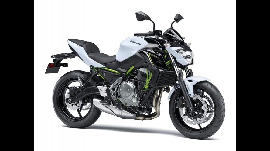 Kawasaki antecipa as novas Z650 (substituta da ER-6N) e Z900 que estreiam em novembro