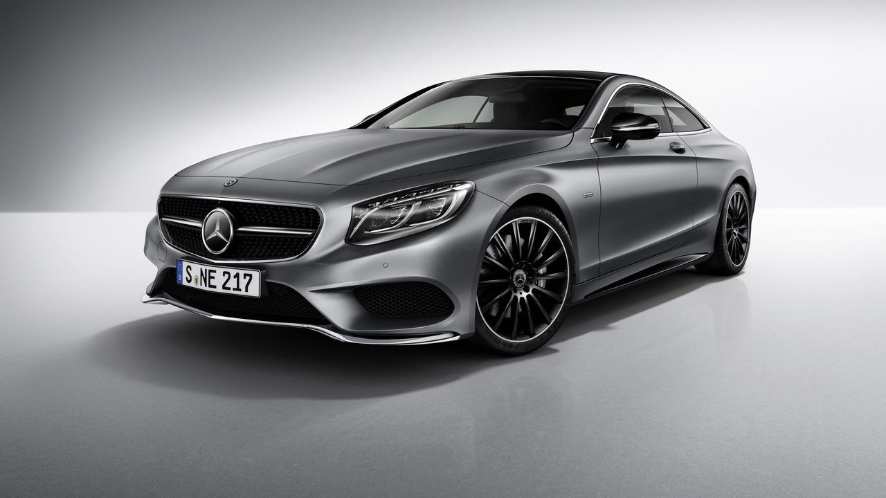 2018 Flat Gloss Black Badge Emblem S63+AMG+V8 BITURBO for Mercedes Benz Sclass