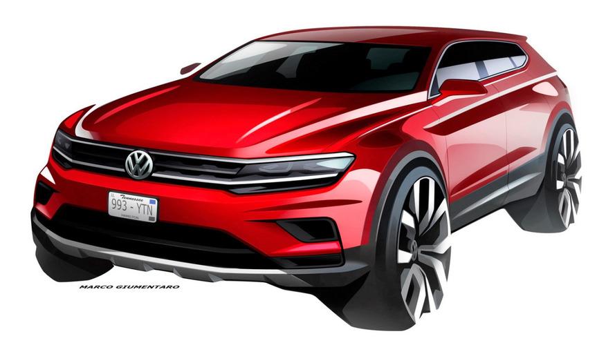 VW mostra teaser do Tiguan Allspace, versão de sete lugares que estreia em Detroit