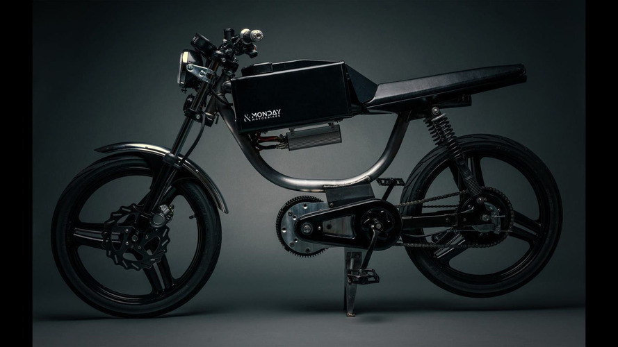Monday Motorbikes reveals electric bicycle with 50-mile range