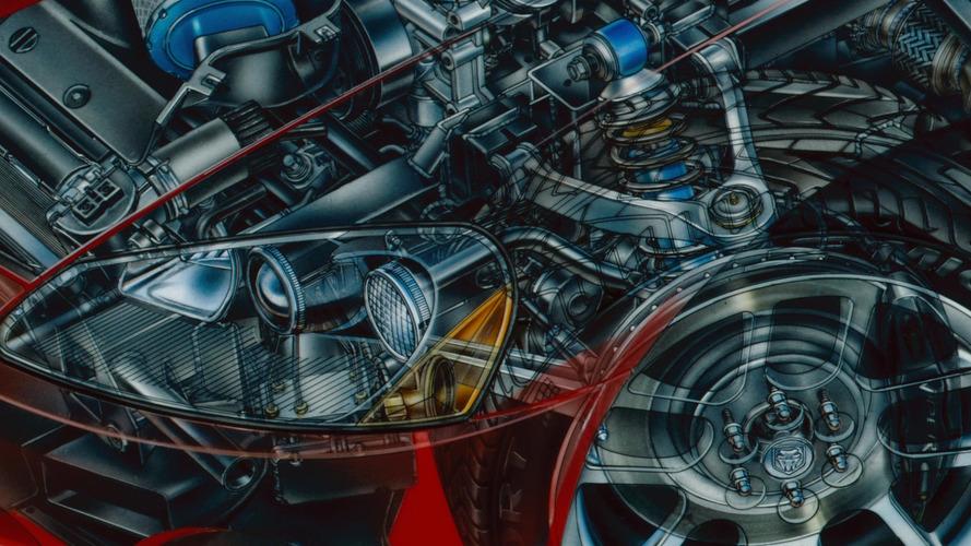 2013 Dodge Viper SRT-10 Cutaway by David Kimble