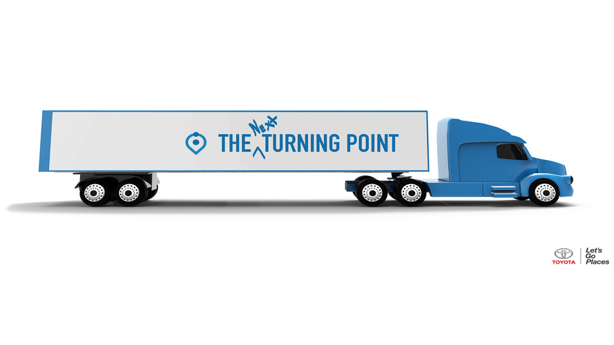 Toyota wants a great big convoy of hydrogen fuel cell big rigs
