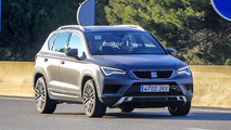 SEAT Ateca Cupra spy photos