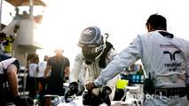 Valtteri Bottas, Williams, on the grid