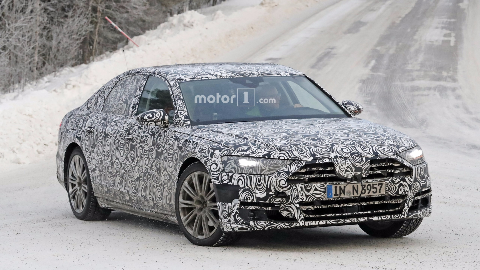 Save the date New Audi A8 to be revealed on July 11 in Barcelona