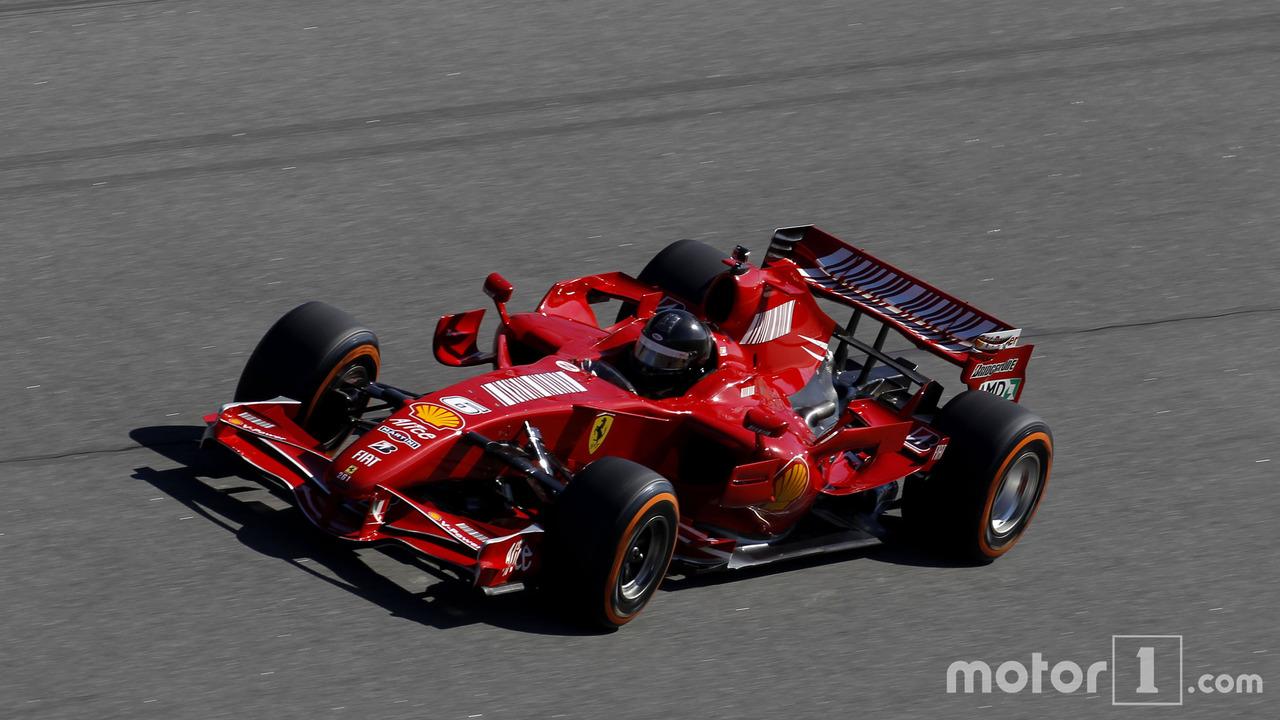 Les F1 Ferrari aux Finali Mondiali