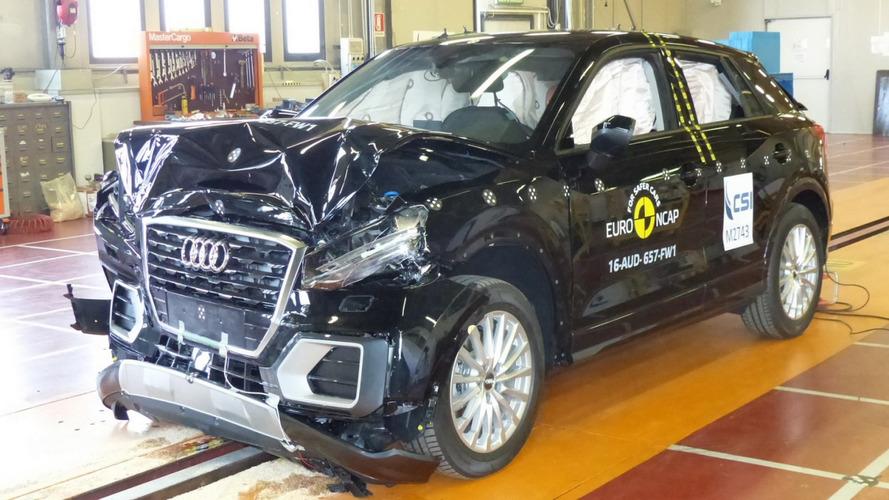 Audi Q2, Ford Edge e Hyundai Ioniq alcançam 5 estrelas no Euro NCAP