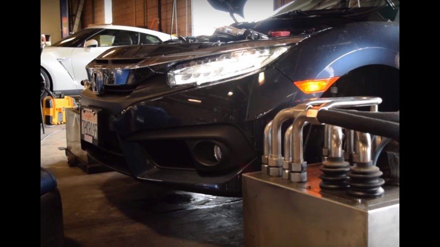 Novo Honda Civic 1.5 turbo despeja quase 180 cv no dinamômetro - vídeo