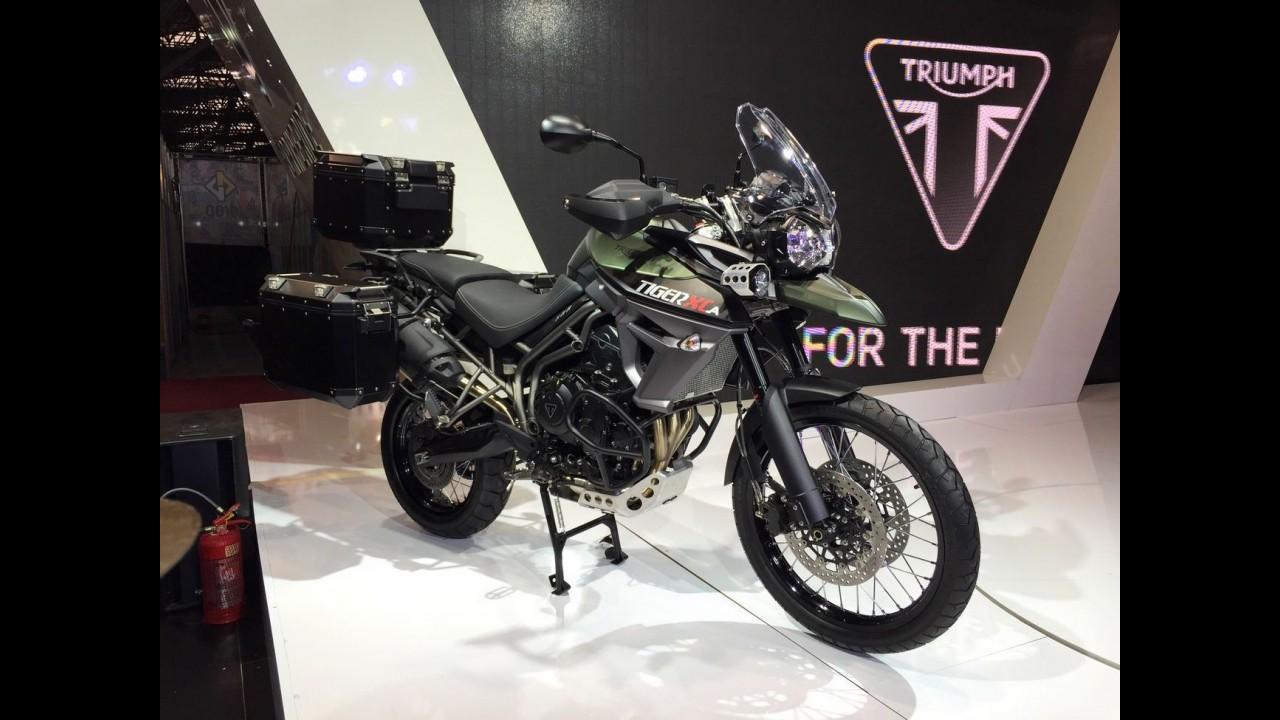 Salão Duas Rodas: Triumph lança duas novas versões da Tiger 800