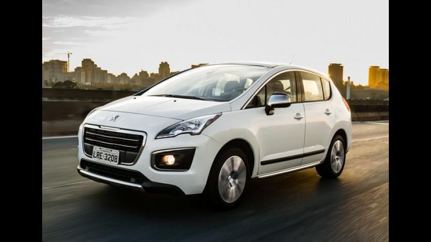 Peugeot 3008 2016 ganha novos itens de série e aumenta para R$ 113.990