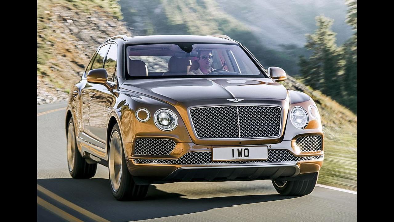 Bentley Bentayga: primeiro exemplar sai da linha de montagem no Reino Unido