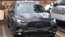 Infiniti QX50 Spy Photos