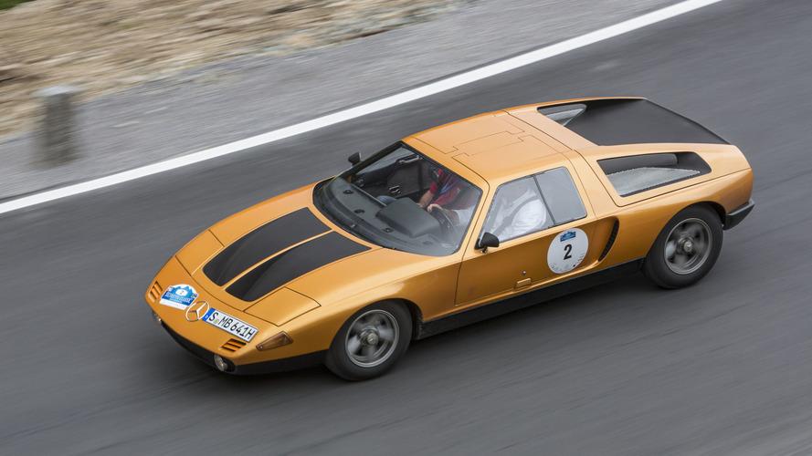 1970 - Mercedes C111 Concept