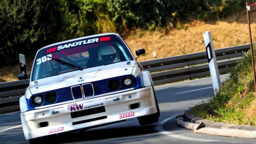 BMW 320is tırmanmada adeta kanatlanıyor