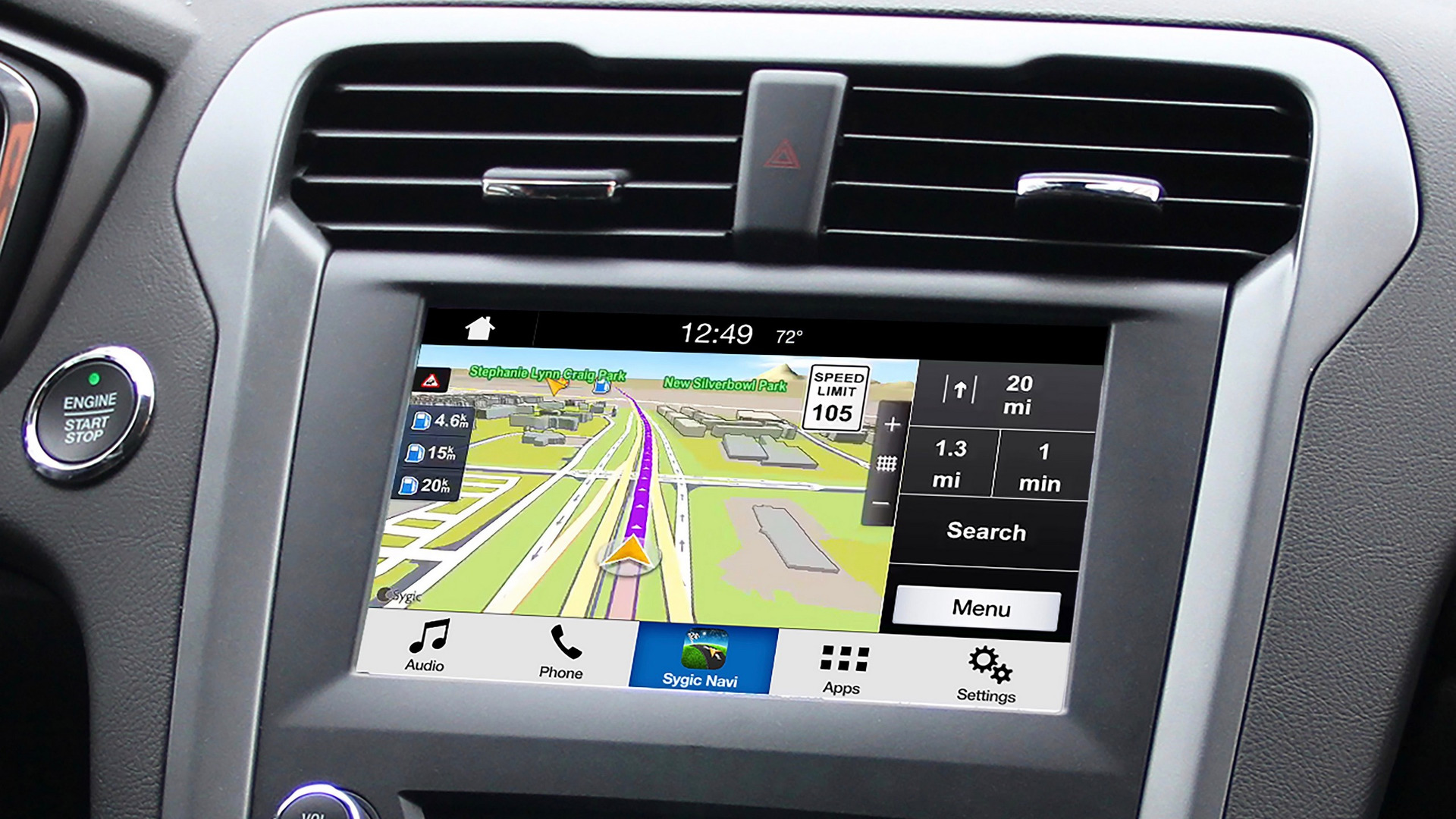 Ford Sync 3 will project smartphone nav apps on touchscreen
