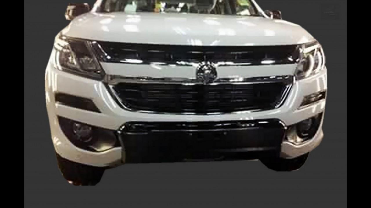 Segredo: Chevrolet S10 2017 aparece em nova foto sem camuflagem