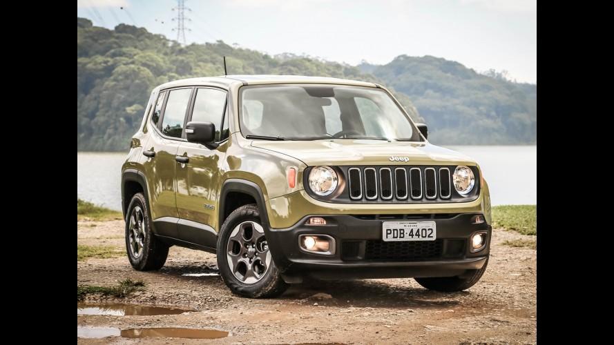 Jeep Renegade lidera segmento em outubro; diesel responde por 24% das vendas