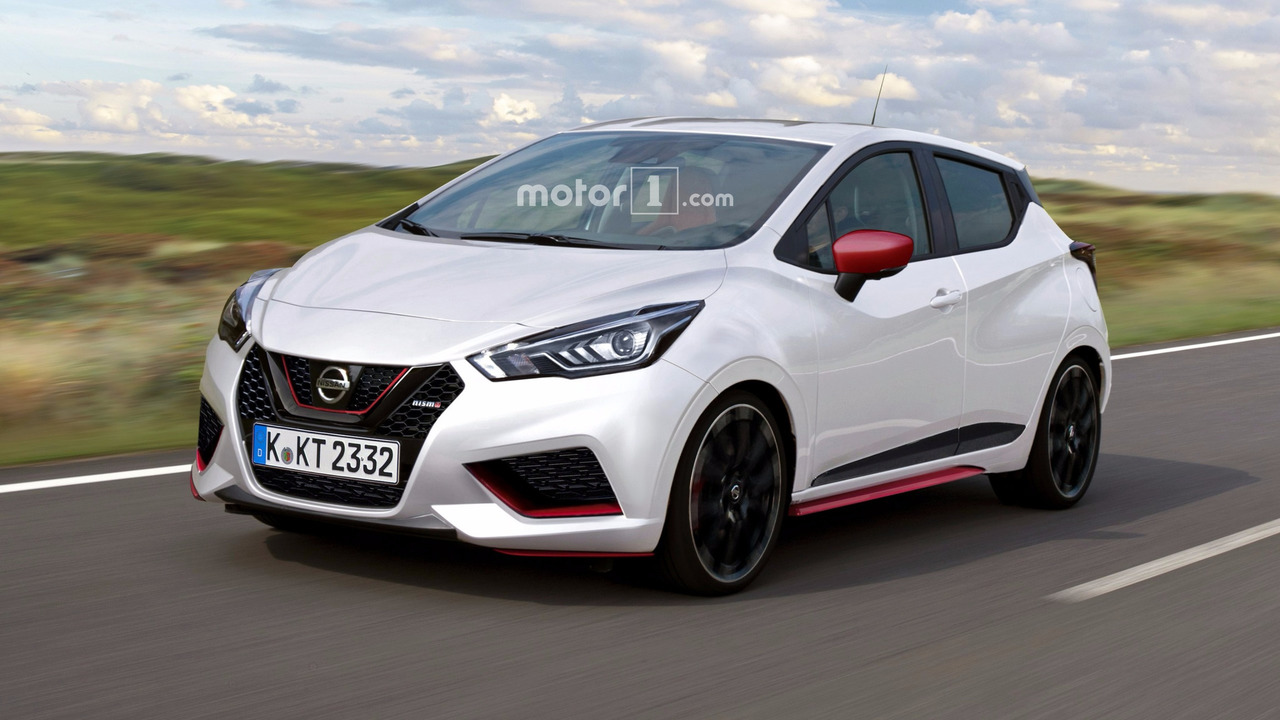 Nissan Micra Nismo speculative render