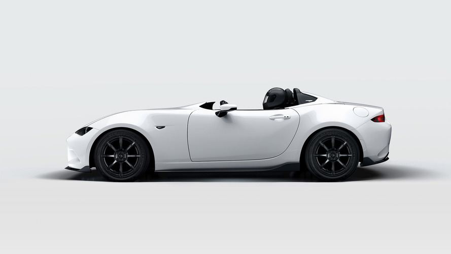 Mazda'nın tüy gibi hafif MX-5'i, SEMA için daha da zayıfladı