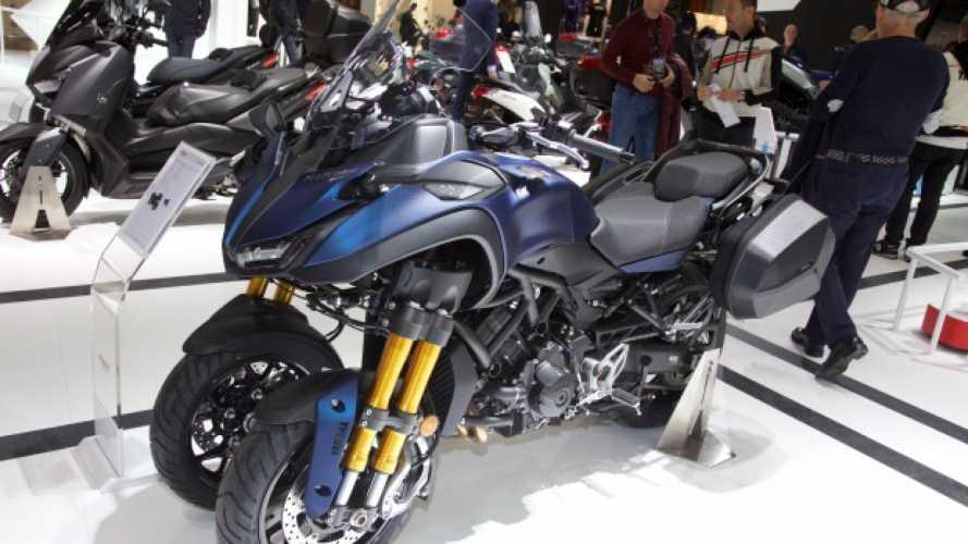 Yamaha Niken GT: tre ruote per viaggiare