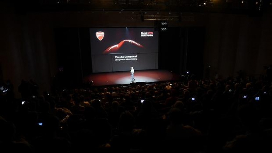 Ducati presenterà in live streaming le novità 2016