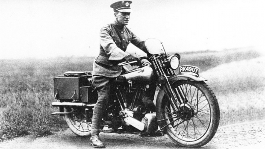 Lawrence D'Arabia e la leggendaria Brough Superior