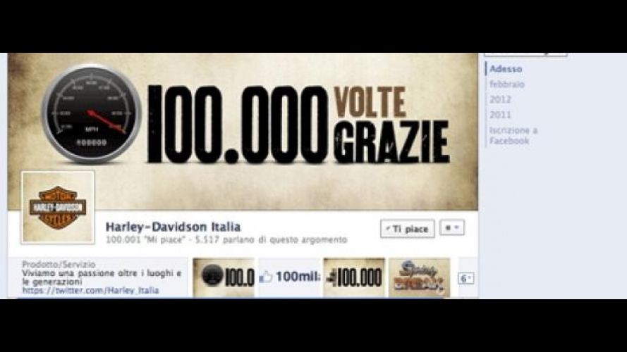 "Harley-Davidson: ""Be the first of 100.000"""