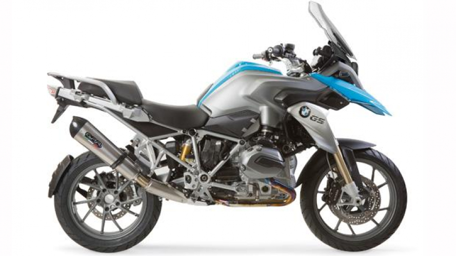GPR: linea Fast Can e Powercarbon per BMW R 1200 GS 2013