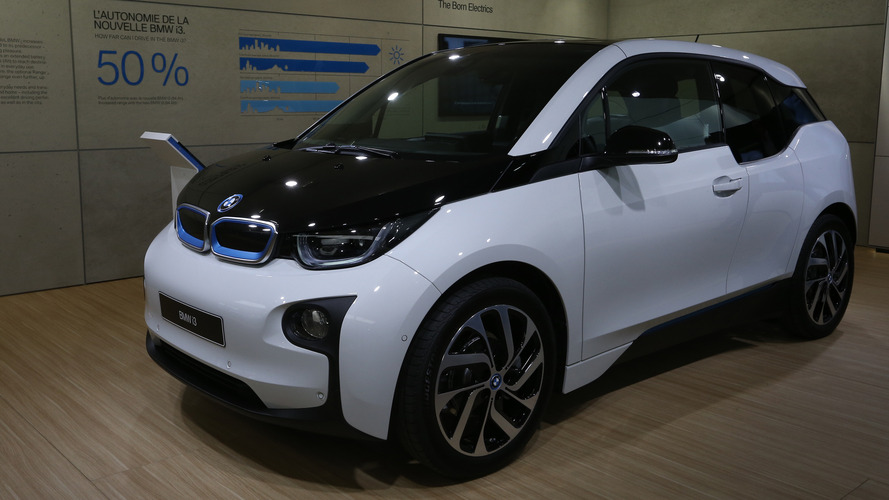 2017 BMW i3 Paris Motor Show