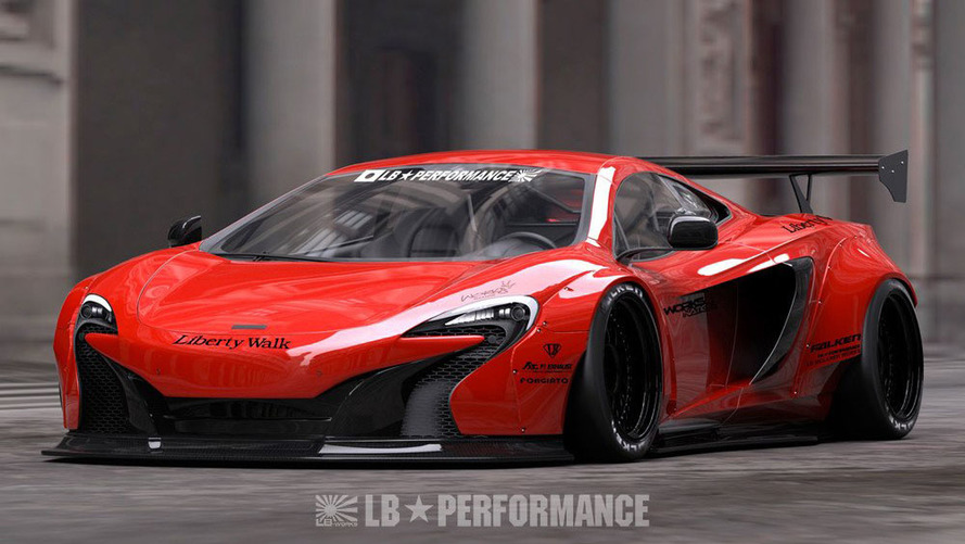 Japanese tuner applies extreme styling recipe to McLaren 650S