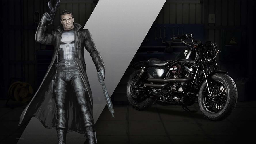 Harley-Davidson Custom Marvel Süper Kahraman Motosikletleri