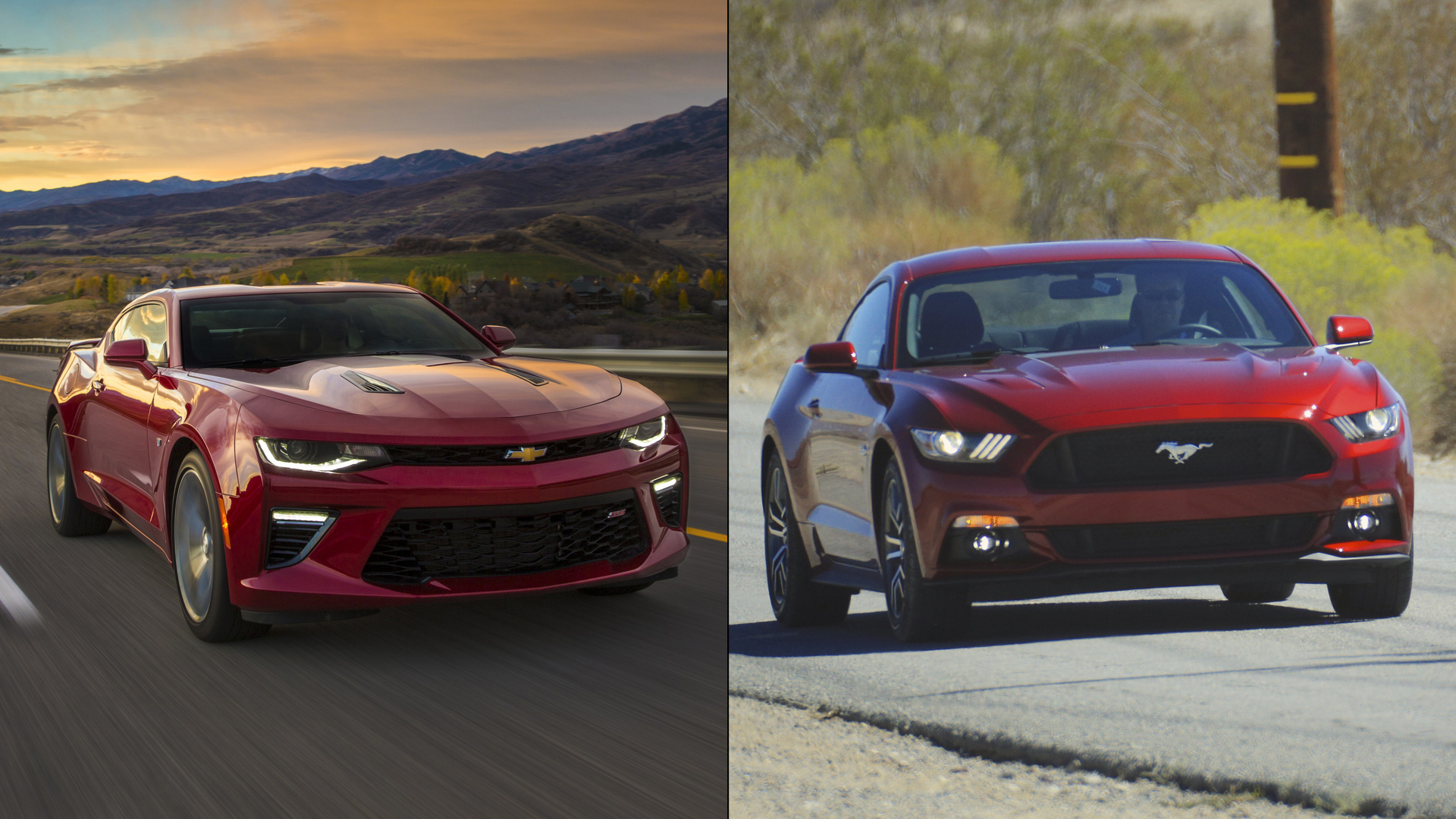 Difference between camaro and mustang