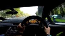 Lamborghini ile SPA'da araç üstü bir tur