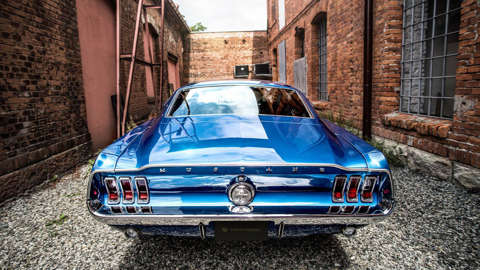 1967 Ford Mustang Gets A Modern Interior By Carlex Design