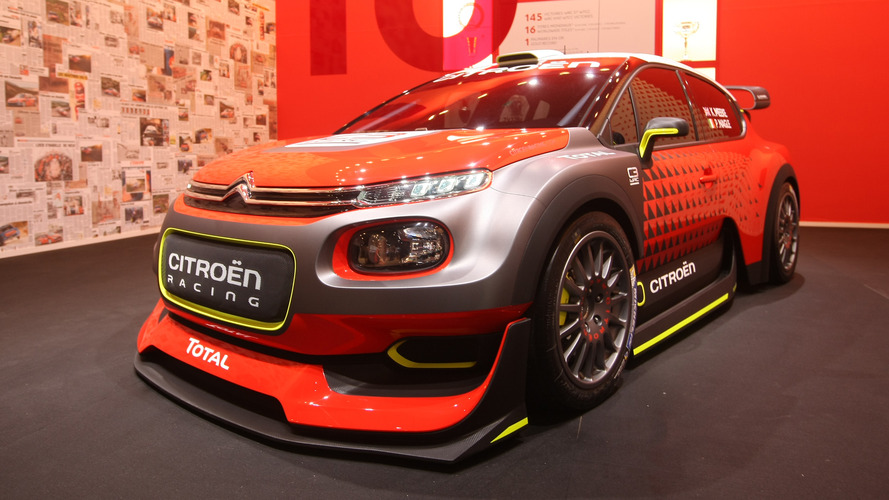 380-hp Citroen C3 WRC Concept let loose in Paris