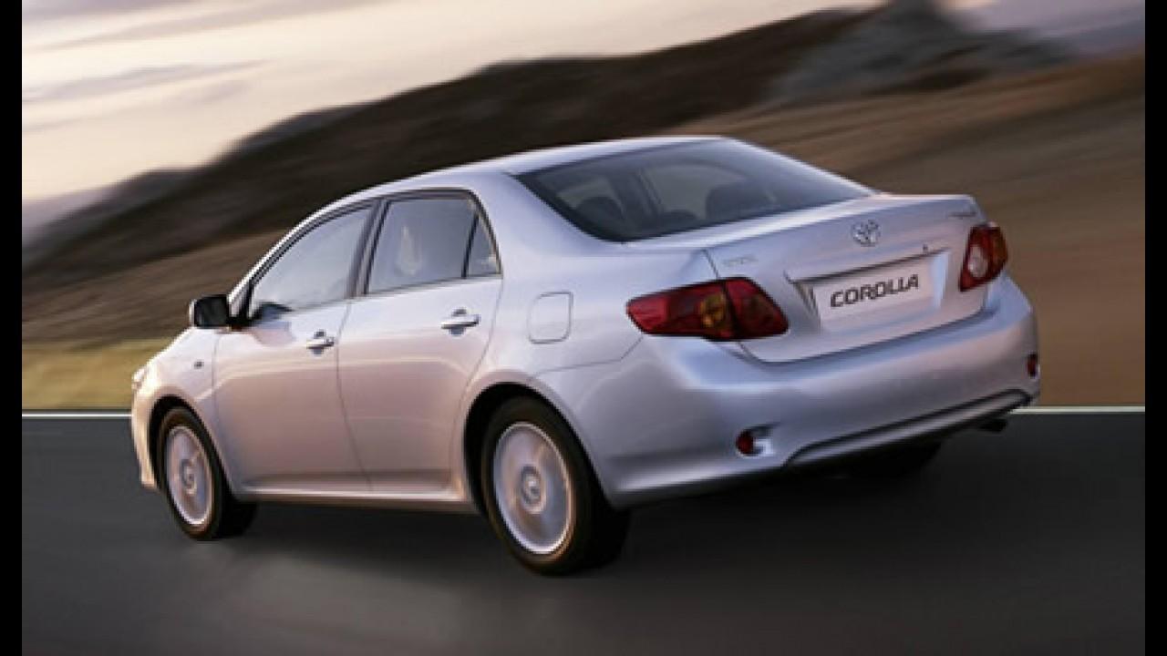 Conheça o novo Toyota Corolla que chega ao Brasil entre maio e junho de 2008