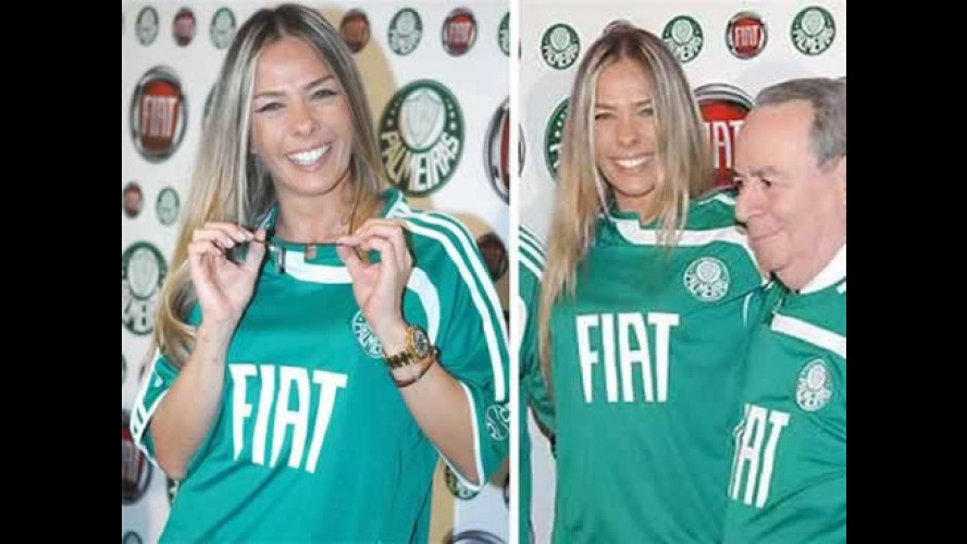 Fiat é a nova patrocinadora do Palmeiras
