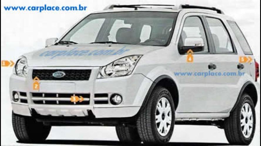 Exclusivo - Nova Ford Ecosport 2008/2009