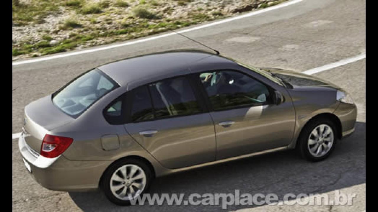 Novo Renault Symbol será lançado no dia 22 de dezembro na Argentina