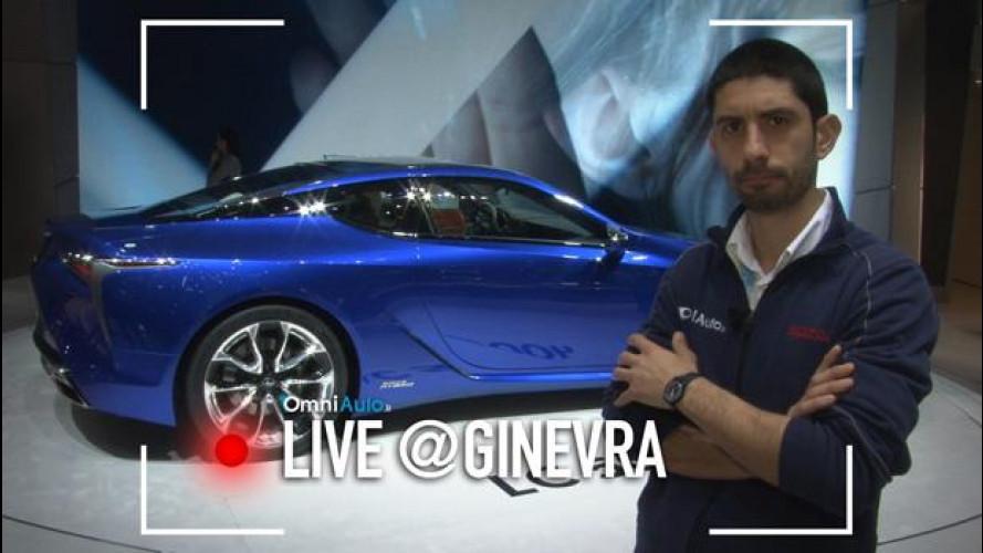 Ginevra, Lexus LC 500h e l'ibrido diventa sportivo [VIDEO]
