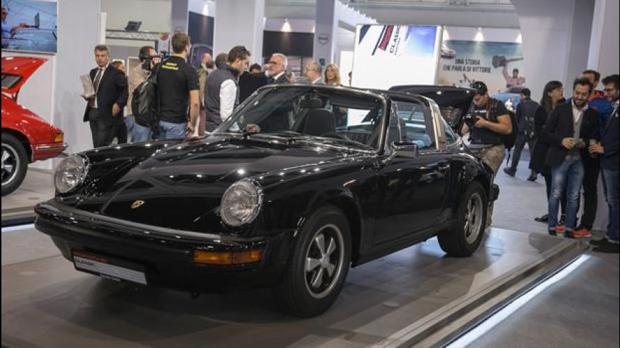 Auto e Moto d'Epoca, Padova Est vince il Concorso di Restauro Porsche Classic