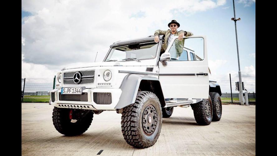 Auto dei piloti F1, Hamilton punta il Mercedes-AMG G63 6x6