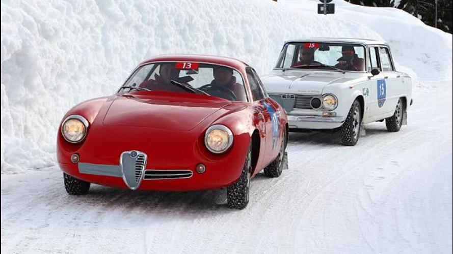 Alfa Giulia e Giulietta fra i ghiacci della Winter Marathon [VIDEO]