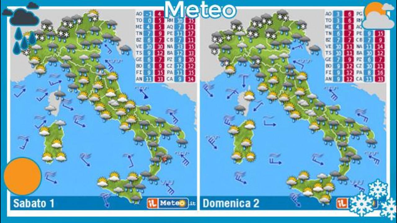 [Copertina] - Previsioni meteo del fine settimana 1 e 2 febbraio