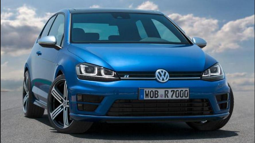 Volkswagen Golf R, prezzi da 40.900 euro