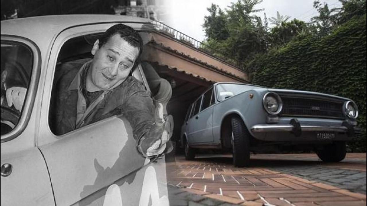 [Copertina] - Alberto Sordi, nel garage della villa c'è ancora la sua Fiat