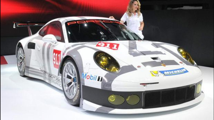 Porsche 911 RSR: pronta per Le Mans